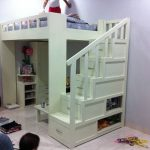 Kids Bed with Ladder