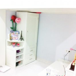 Wardrobe with Table