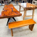 Solid Fineteak Console Table