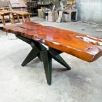 Solid Fineteak Foyer Table